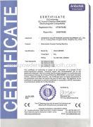 CE certification for electrostatic powder coating machine