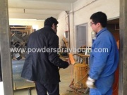 customer from Pakistan visiting to our factory