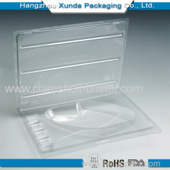 Clear plastic blister hardware packaging