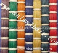 Dyed Horse Tail Hair