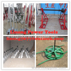 Cable Drum JacksCable Drum Handling