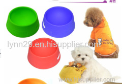 2014 New Portable and Unbreakable Collapsible Silicone Dog Bowl/Silicone Pet Bowls