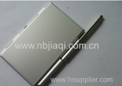 Card Holder With Note & Pen Promotional