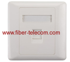 1-port UK type Face Plate 86*86mm