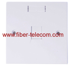 1-port tipo UK Face Plate