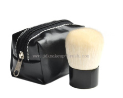 Black mini Kabuki Brush