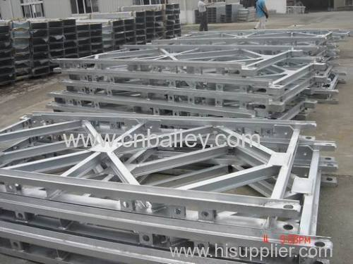 Galvanized Bailey Steel bridge Panel
