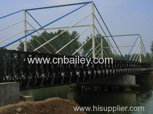 steel structure pedestrian bridge