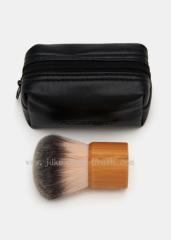 Kabuki Brush with PU Pouch