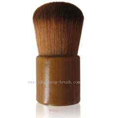 Cosmetic Kabuki Brush with Wooden Handle