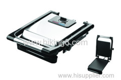 2 slicer contact press grill with handle