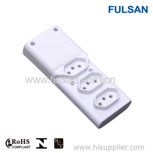 Brazil Inmetro Approved Removable Power Strip