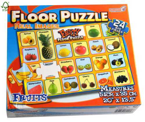 real fruit floor jigsaw puzzle