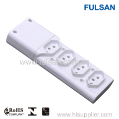 multi 4 way extension cord multiple socket