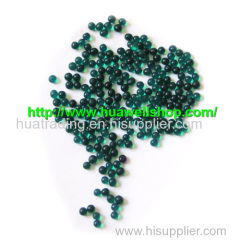 Deep Green color crystal soil