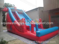 Inflatable Spider man Slide