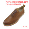 Italian dress high fashion leather men shoes style