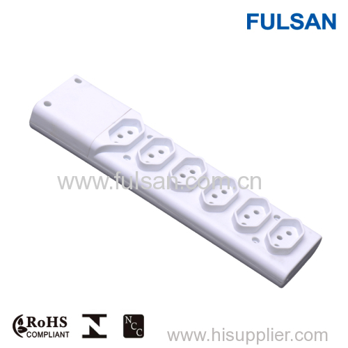 Surge protector power extension socket