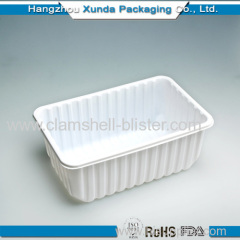 Plastic fruit or vegetable container