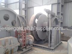 Hydraulic Claw Clutch Marine Hydraulic Winch Steel Wire Rope 48mm