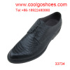 snake calfskin material formal men leather shoes