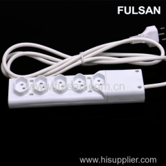 5 Way Multiple Electrical Extension Power Strip Socket Outlet