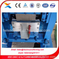 xinnuo rollformingmachine water gutter used rollforming machine botou factory made in china