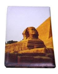 Pyramid cover PU hardcover notebook