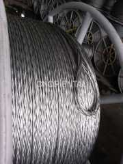 hexagon 12 strands anti twisting steel wire rope