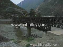 Bailey Steel Frame Bridge