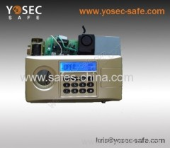 LCD safe lock for home safe