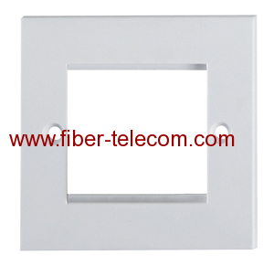 UK type Flat Faceplate