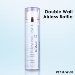 double wall airless bottle