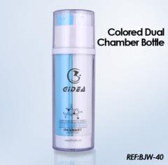 Dual Chamber Dispenser Plastic airless bottle