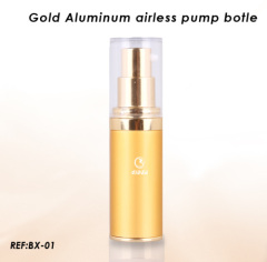 Aluminium Airless pump Bottle