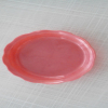 Plastic product for plastic tray