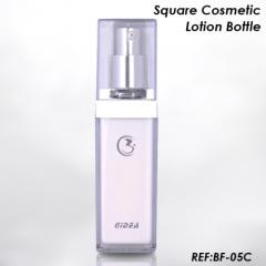 square Acrylic Lotion Bottle