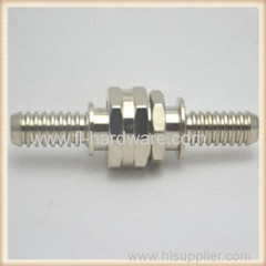 "3/4"" male and female thread Brass barbed hose connector fittings"