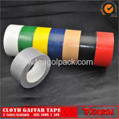 50mmx50M Cloth Duct Tape 50mesh Silver/Red/White
