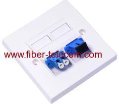 Façade 86 * 86mm de la fibre optique adaptateur