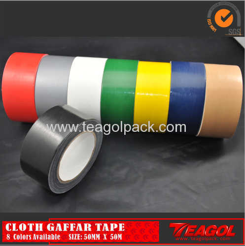 Cloth Duct Tape 50mesh Black Color Size: 50mm x 50m