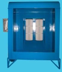powder coating spray booth with filter