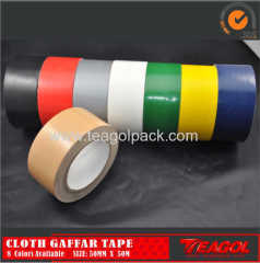 Cloth Duct Tape 50mesh Brown Color Size: 50mm x 50m