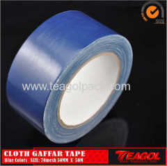 Cloth Gaffar Tape 70mesh Dark Bue Color Size: 50mm x 50m