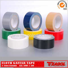 Cloth Gaffar Tape 70mesh 8Colors Available Size: 50mm x 50m