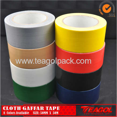 Cloth Duct Tape 50mesh 8 Colors Available Size: 50mm x 50m