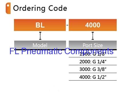 BL4000 Air Lubricators