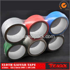 27mesh Cloth Cotton Tape 6Colors Size: 50mm x 10m x 6PK
