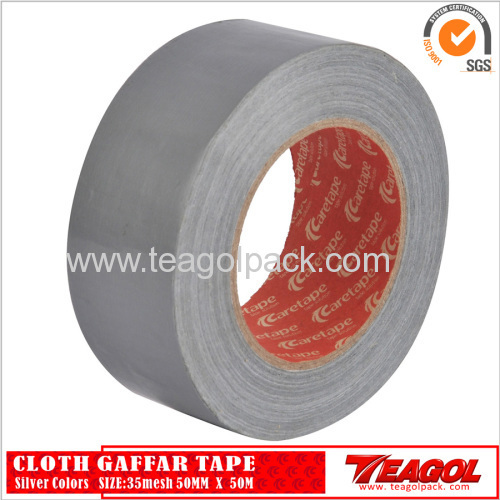 35mesh Cloth Cotton Tape Silver Color Size: 48mm x 50m
