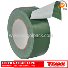 35mesh Cloth Cotton Tape Green Color Size: 48mm x 50m
